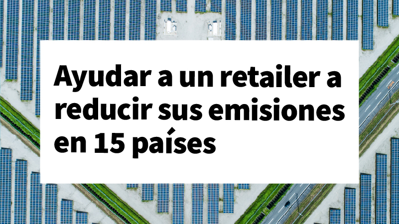 What if a real estate company could help a retailer reduce emissions in 15 countries